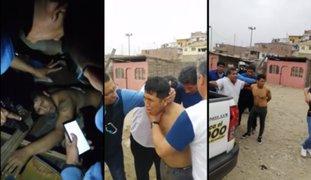 PNP recaptura a delincuente que escapó del hospital del Callao