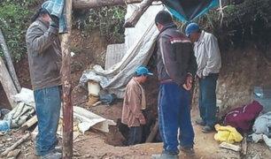 La Libertad: mineros informales murieron tras inhalar vapores nocivos
