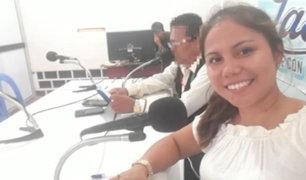 Loreto: hallan cuerpo de periodista desaparecida y detienen a su esposo