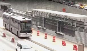 Metropolitano desvía su recorrido por obras en la Estación 'Andrés Reyes'