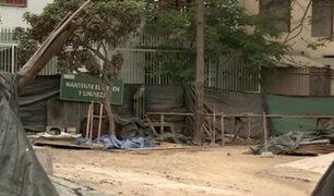 Los Olivos: obra abandonada convertida en guarida de delincuentes