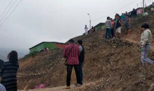 VMT: hallan cadáver calcinado de mujer en cerro Centinela
