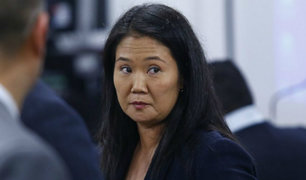 Keiko Fujimori: analizarán este jueves pedido de prisión preventiva