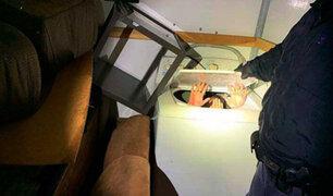 EEUU: hallan inmigrantes ocultos en muebles y electrodomésticos