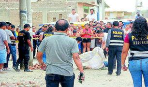Piura: dos hombres fueron asesinados a balazos