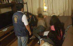 Comas: rescatan a cinco menores de edad que eran explotadas sexualmente