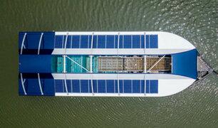 Presentan dispositivo flotante capaz de extraer plástico de los ríos