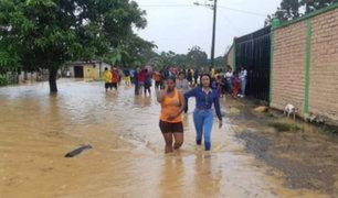 Fuertes lluvias golpearon al menos cinco provincias de Ecuador