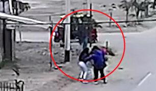 Carabayllo: delincuentes armados asaltan violentamente a joven