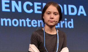 """Greta Thunberg: 2020 será el """"año de la acción"""" contra calentamiento global"""