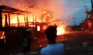 Ayacucho: 23 familias quedan desamparadas tras incendio en Huanta
