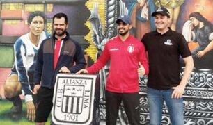 George Forsyth y empresario árabe disputan partido de fútbol en Matute