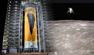 NASA presenta el cohete más grande del mundo para misiones lunares