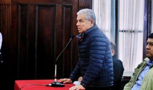César Villanueva: PJ dictó 18 meses de prisión preventiva en su contra