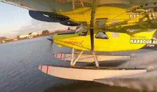 Canadá: despega el primer avión de pasajeros eléctrico