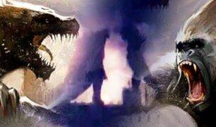Godzilla vs King Kong: filtran la primera imagen de la batalla de los titanes
