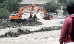 Declaran en emergencia 15 distritos de Lima ante peligro inminente de inundaciones