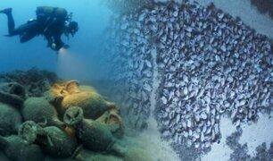 Hallan en el Mar Jónico un naufragio romano de la época de Jesús de Nazaret