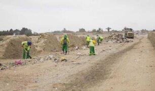 Realizan jornadas de limpieza en complejo arqueológico Chan Chan