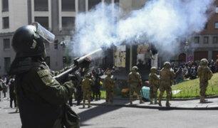Bolivia y CIDH crean grupo de expertos para investigar violencia en el país