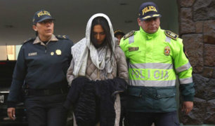 Melisa Gonzáles Gagliuffi salió en libertad