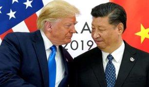 Donald Trump aprueba acuerdo para rebajar tensión comercial con China