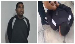 Surco: detienen a venezolano que amenazó con arma a joven para robarle su celular