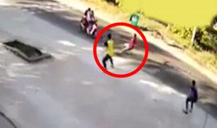Vietnam: hombre resulta herido tras intentar detener a ladrones en moto