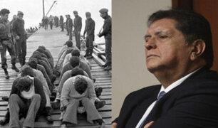 Alan García sobornó con US$25 mil a fiscal del caso El Frontón, dijo colaborador eficaz