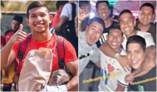 Edison Flores se divirtió en discoteca con amigos y sin su novia