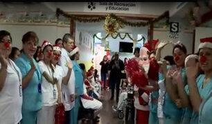 Callao: niños del hospital Sabogal ya celebran la Navidad