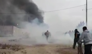 Tacna: desalojan más de 4 mil invasores en distrito de Gregorio Albarracín