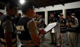 VES: PNP desarticula bandas criminales acusadas de robo y asesinato