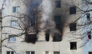 Alemania: un muerto y 25 heridos dejó explosión al interior de edificio