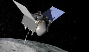 NASA recogerá por primera vez muestras de un asteroide en el espacio