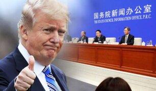 EEUU y China cierran primera fase del acuerdo para poner fin a la guerra comercial