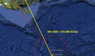 Gobierno chileno decretó duelo nacional tras accidente aéreo que cobró la vida de 38 personas