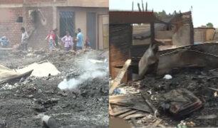 Callao: vecinos denuncian que incendio fue provocado por extorsionadores