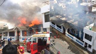 Incendio destruye histórica casona en Lambayeque
