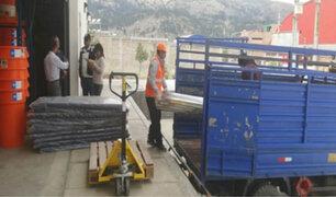 Áncash: entregan ayuda a familias damnificadas por fuertes lluvias