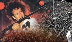 Soda Stereo: se cumplen 28 años de su histórico recital ante 250 mil personas en Argentina