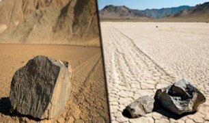 """Hallan el rastro de una """"piedra reptante"""" de la época de los dinosaurios"""