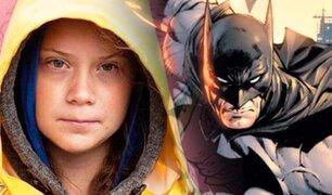 Batman: Greta Thunberg aparece en un cómic del Caballero de la Noche
