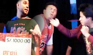 Duelo de bofetadas: así se realizó el Primer Torneo de Cachetadas en el Perú