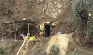 Policía combate la minería informal en el norte del país