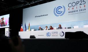 COP25 termina con acuerdos mínimos sobre el cambio climático