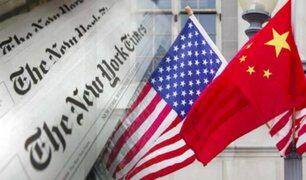EEUU habría expulsado en secreto a dos diplomáticos chinos por espionaje