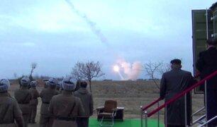 """Corea del Norte realiza prueba para """"contener y superar amenaza nuclear"""" de EEUU"""