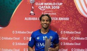 André Carrillo fue elegido por FIFA como el mejor del partido por el Mundial de Clubes 2019