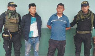 Lambayeque: padre e hijo implicados en robo fueron condenados a 12 años de prisión